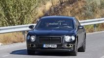New Bentley Flying Spur spy photo