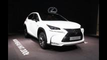 Salone di Parigi, Lexus NX a tutto volume