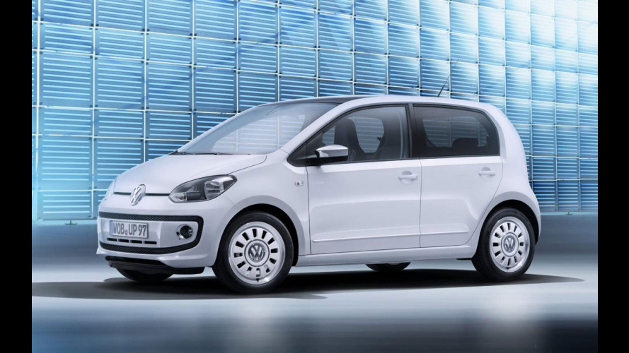 Volkswagen up! 5 porte, le prime foto