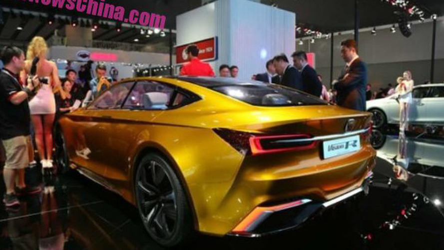 Roewe Vision R Concept goes official in Guangzhou
