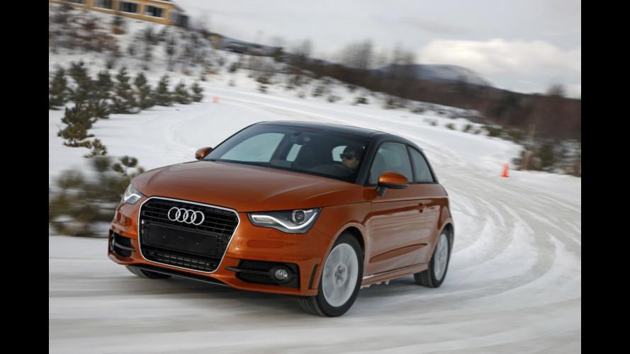 L'Audi A1 2.0 TDI debutta in Italia