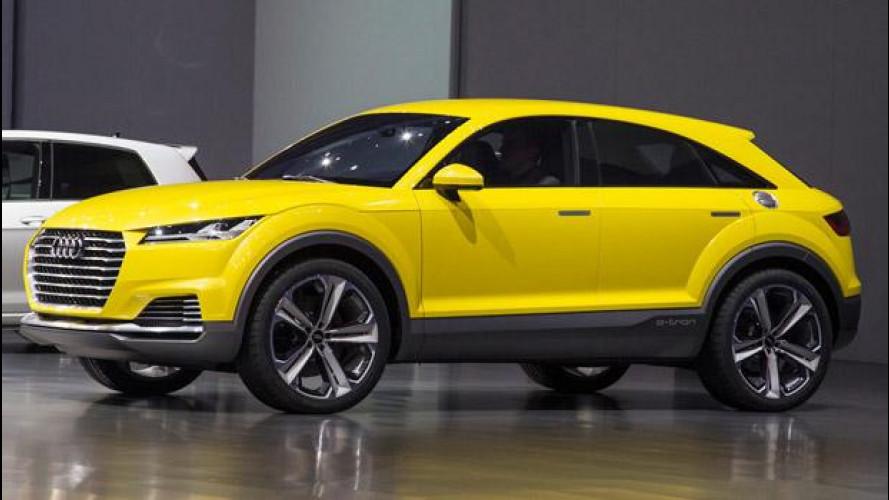 Audi TT offroad concept, 100 km con 1,9 litri di carburante
