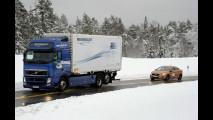 Volvo SARTRE, primi test dimostrativi