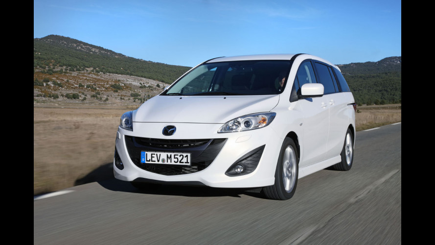 Mazda5 1.6 Diesel, piccolo motore per grandi viaggi