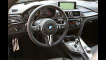 BMW M4, la prova in pista