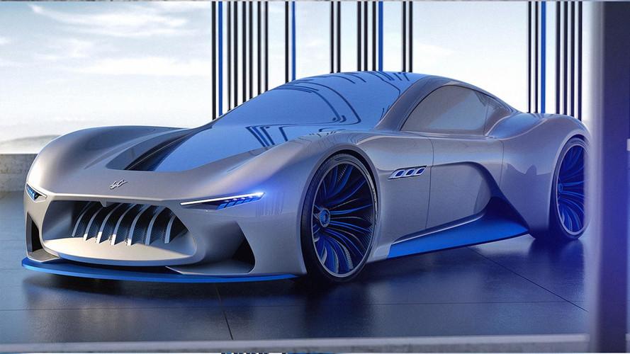 Olasz művész álmodta meg a Maserati jövőjét