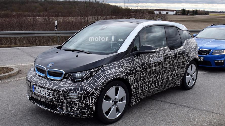 2018 BMW i3 facelift spy photos