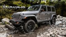 Jeep Wrangler Unlimited 2018 render