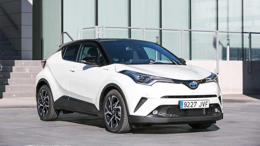 Prueba Toyota C-HR 2017, híbrido y SUV