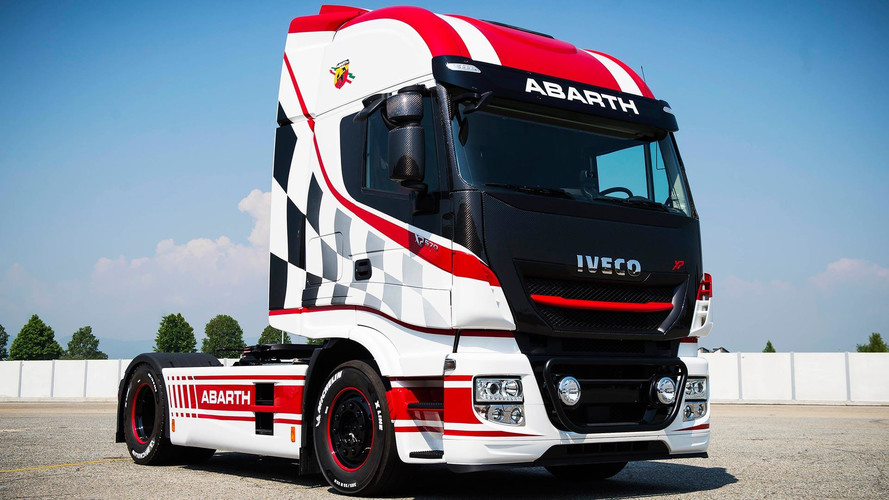 Camión Iveco Team Abarth Scorpion
