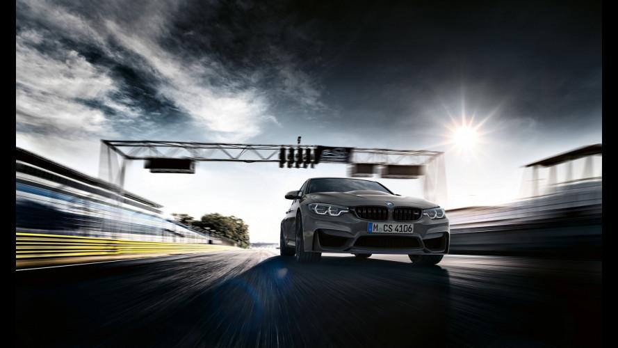 BMW M3 CS, la più potente di sempre