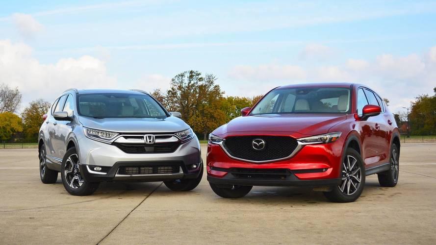 Honda CR-V vs. Mazda CX-5: The Head And The Heart Of SUVs