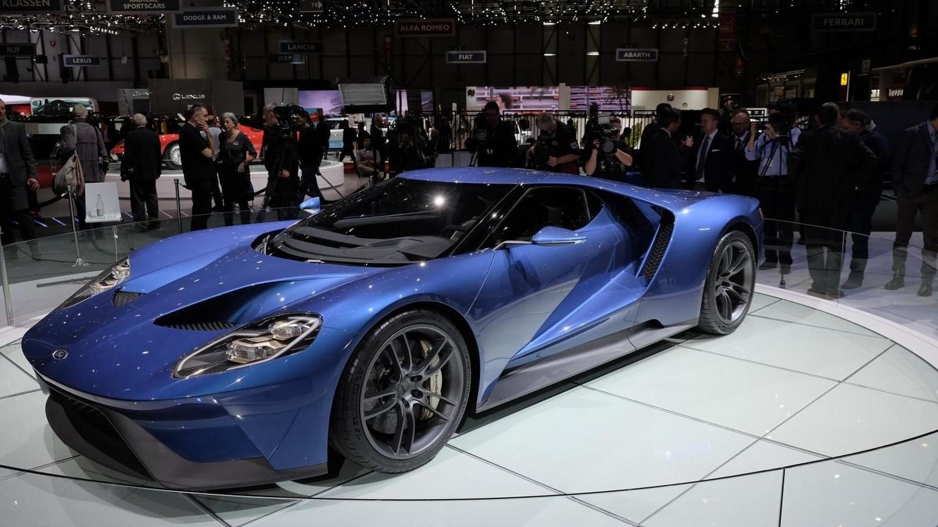 Ford Gt To Cost Around  Annual Production Capped At  Units