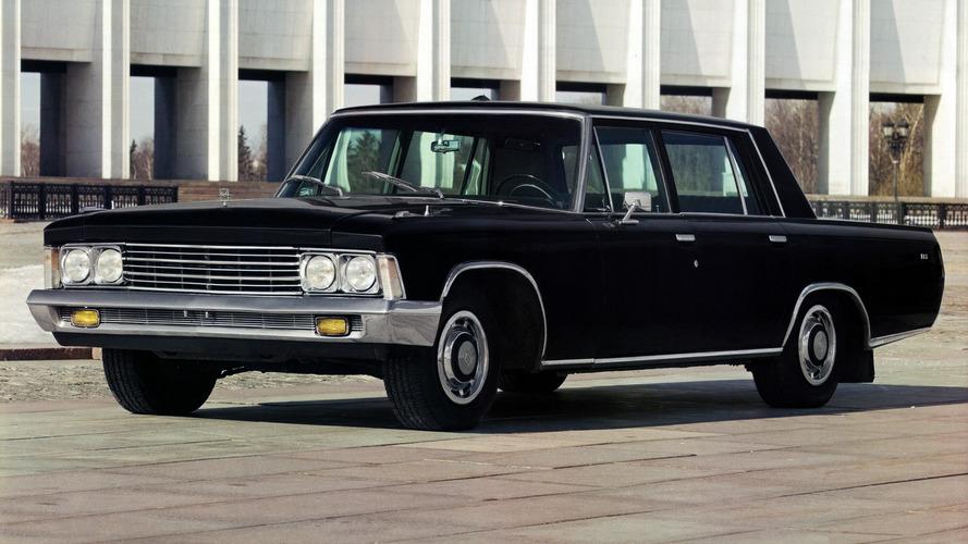 Soviet Cars Were Weird: ZIL-117