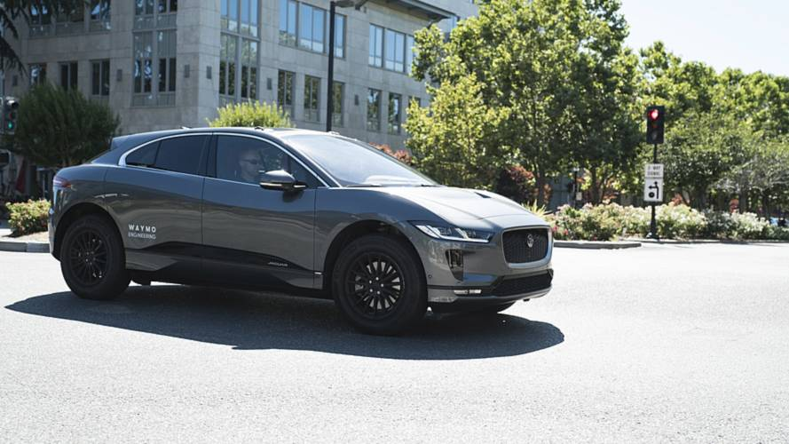 Jaguar Delivers First I-Pace Electric Cars In U.S. To Waymo