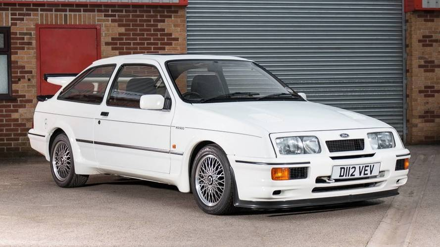 Enchères - 1987 Ford Sierra RS500 Cosworth Chassis No1