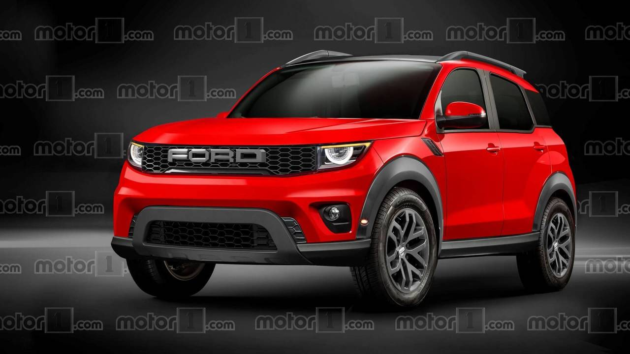 Ford Baby Bronco Render