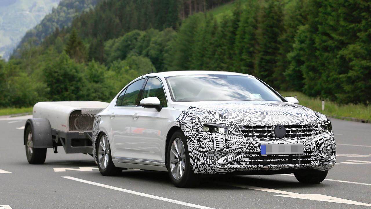 Erwischt: VW Passat