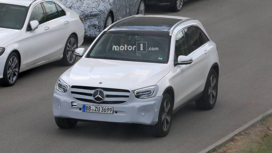 Photos espion - Mercedes GLC restylé