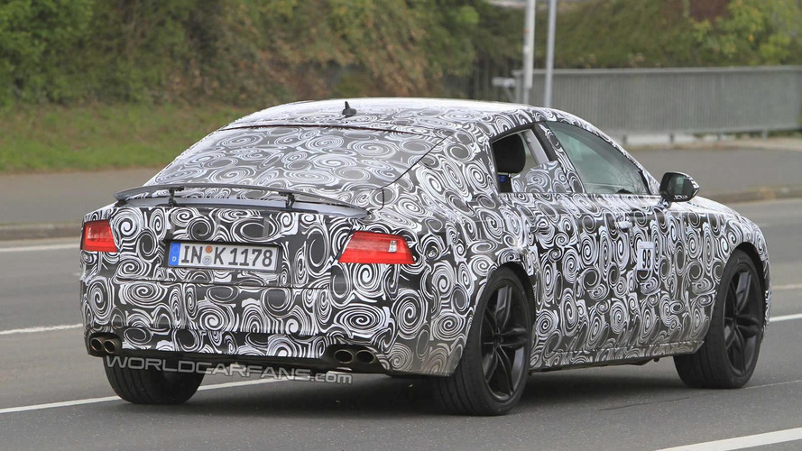 Audi S7 spied for first time