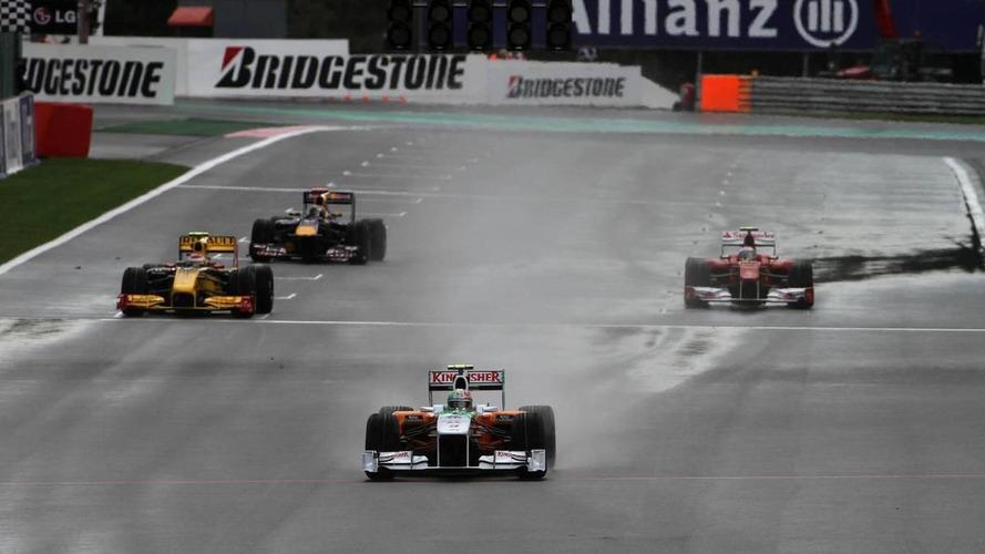 Pecking order unclear as more rain falls at Spa