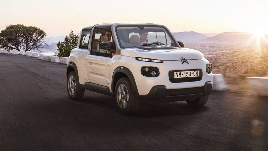 Citroën retouche la E-Mehari en profondeur