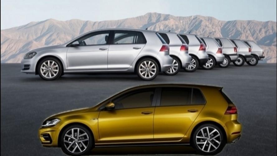 Volkswagen Golf, l'auto che