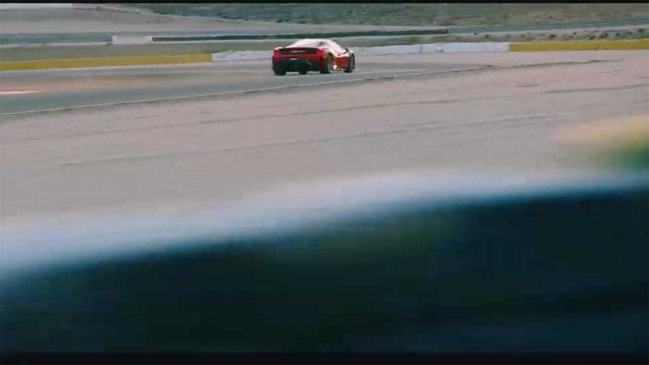 Ferrari 488 Speciale Teaser