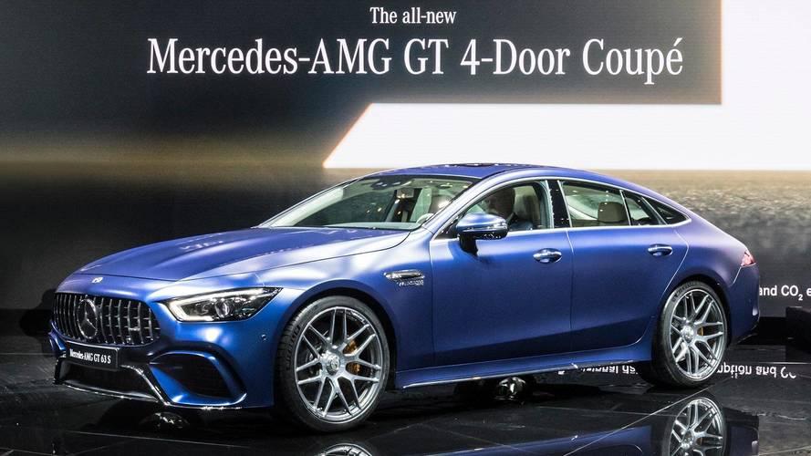 Mercedes-AMG GT 4 Portas estreia com 638 cv para encarar Panamera