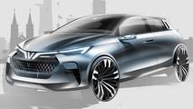 Vinfast city cars by Italdesign