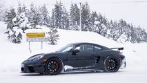 2019 Porsche Cayman GT4 spy photo