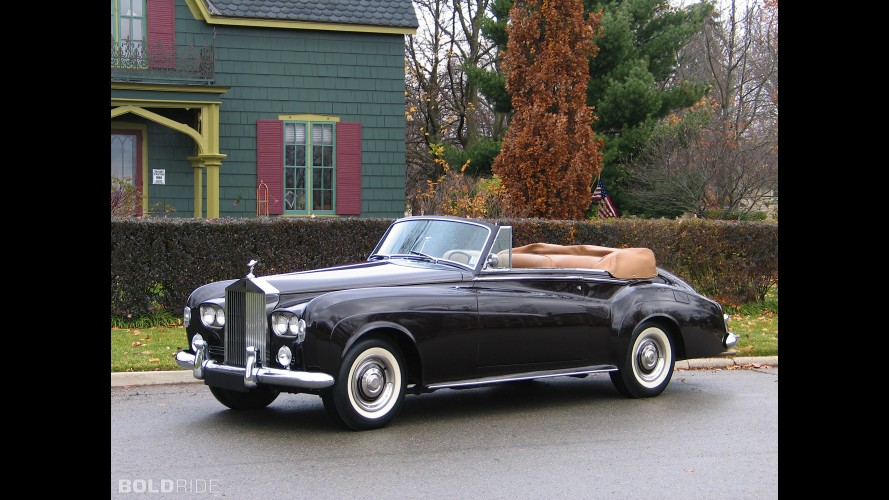 Rolls-Royce Silver Cloud III Drophead Coupe