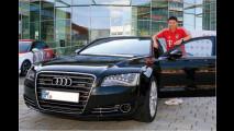 Bayern-Stars fahren Audi