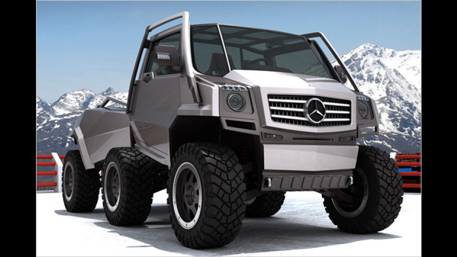 Mercedes Hexawheel Concept: Coole Auto-Ameise