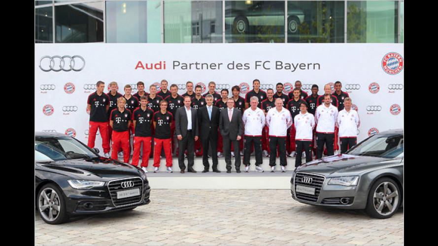 Schweini und Co. bekommen neue Audi-Dienstwagen