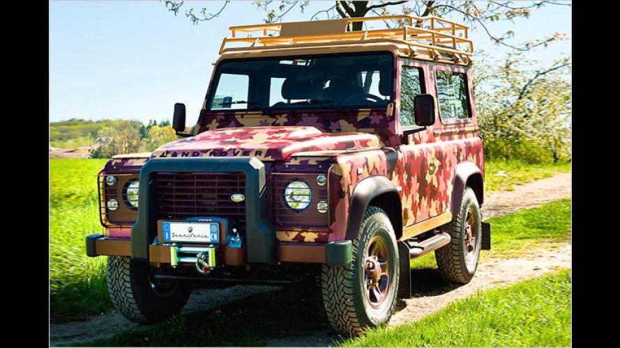 Passend zum Weinberg: Land Rover Defender Vineyard