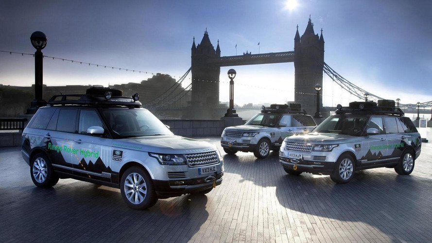 Range Rover Hybrids embark on 9,950 mile expedition