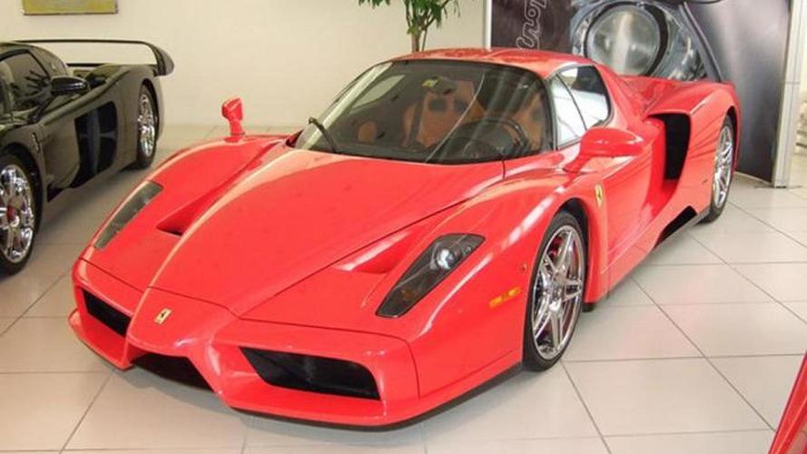 L'ex-Ferrari Enzo de Michael Schumacher est de nouveau à vendre