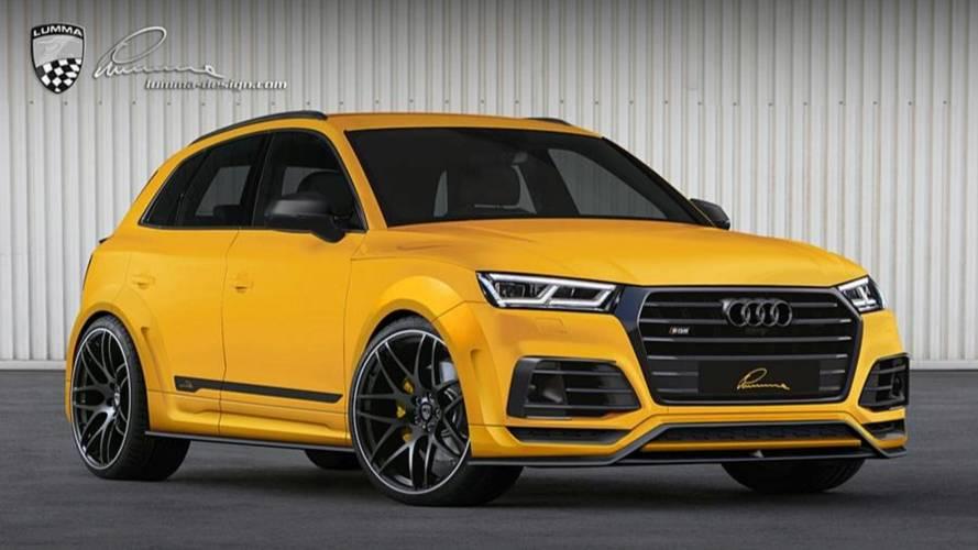 Lumma Design transforma la apariencia del Audi SQ5