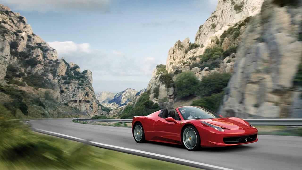 10. Ferrari 458 Spider
