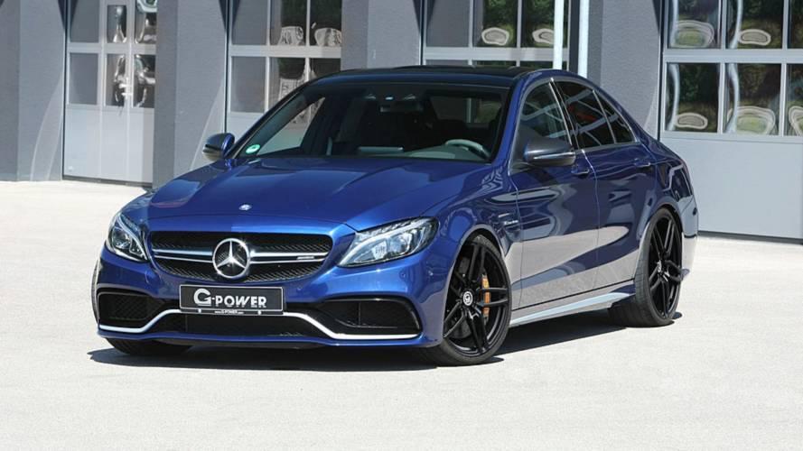 Mercedes-AMG C 63 S G-Power, esagerata con 800 CV