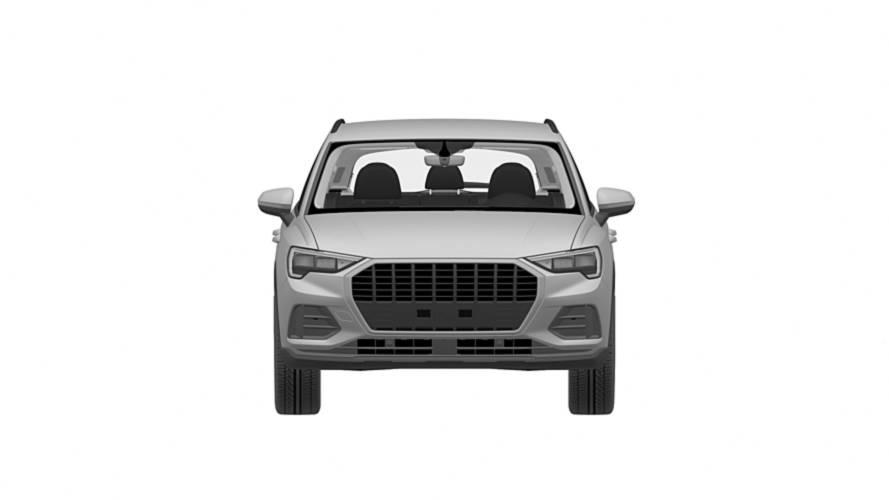 Audi Q3 patent images