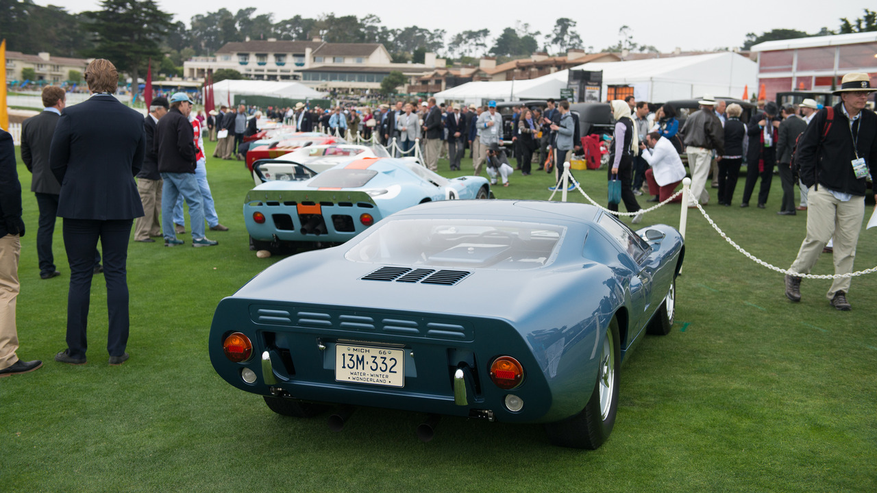 Ford Gts At Pebble Beach Concours Delegance