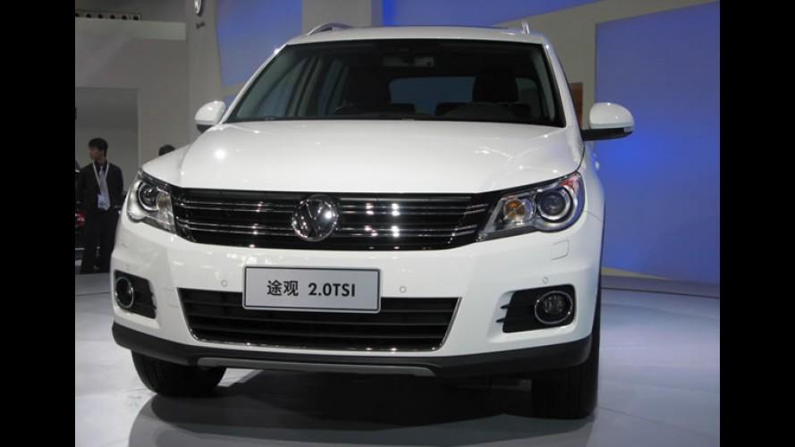 Volkswagen apresenta Tiguan reestilizado na China