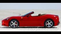 Nova Ferrari California custará o equivalente a R$ 524 mil no Reino Unido