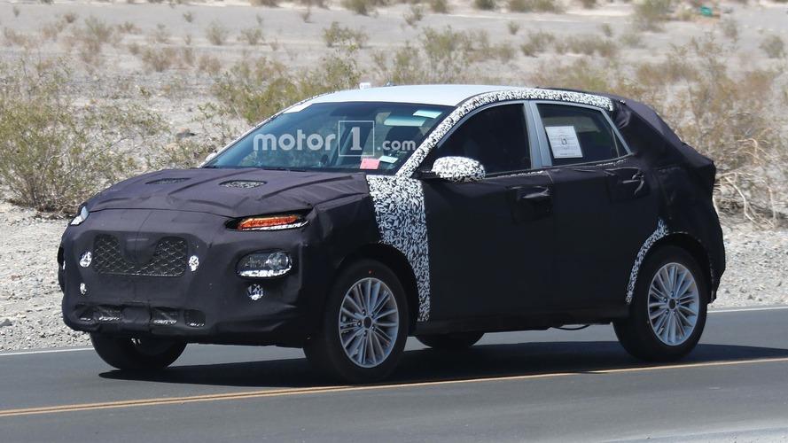 Le futur crossover compact de Kia surpris en cours d'essais sur la route