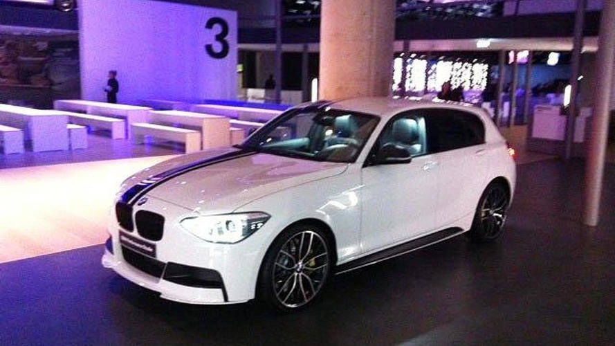 2012 BMW 1-Series performance model photos leaked