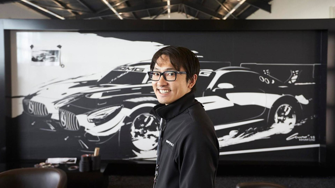 Mercedes-AMG GT3 tape art