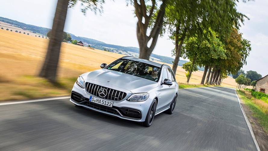 Mercedes-AMG C 63 S Station Wagon restyling