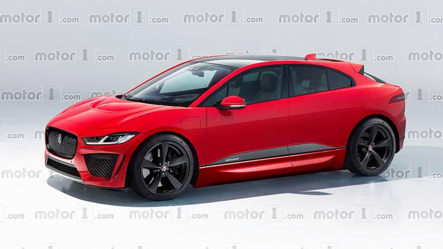 Jaguar I-Pace'in SVR versiyonu böyle görünebilir